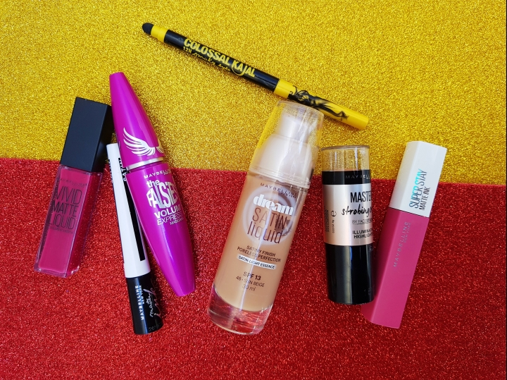Maybelline Cosmetics Review